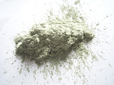 Extreme hard green silicon carbide powder
